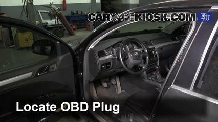 2012 Skoda Superb TDI 4X4 2.0L 4 Cyl. Turbo Diesel Compruebe la luz del motor