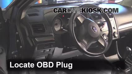 2012 Subaru Impreza 2.0L 4 Cyl. Wagon Compruebe la luz del motor