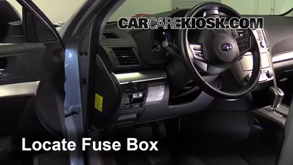 2012 Subaru Outback 2.5i Premium 2.5L 4 Cyl. Fusible (interior)