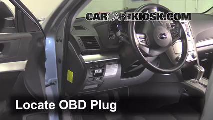 2012 Subaru Outback 2.5i Premium 2.5L 4 Cyl. Compruebe la luz del motor