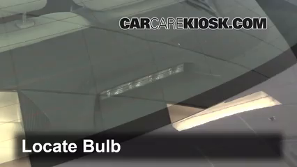 2012 Toyota Corolla LE 1.8L 4 Cyl. Luces Luz de freno central (reemplazar foco)