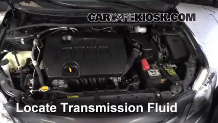2012 Toyota Corolla LE 1.8L 4 Cyl. Transmission Fluid Check Fluid Level