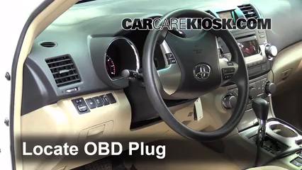 2012 Toyota Highlander 3.5L V6 Check Engine Light
