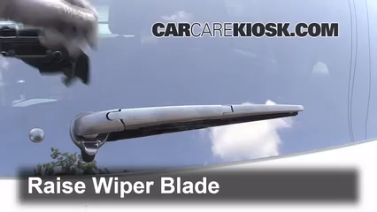 2012 Toyota Highlander 3.5L V6 Windshield Wiper Blade (Rear)