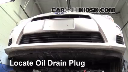2012 Toyota Prius C 1.5L 4 Cyl. Oil Change Oil and Oil Filter