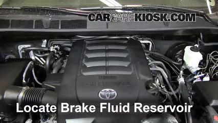 2012 Toyota Sequoia SR5 4.6L V8 Brake Fluid