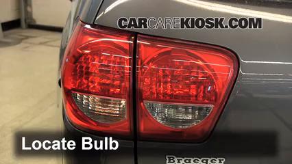 2012 Toyota Sequoia SR5 4.6L V8 Lights