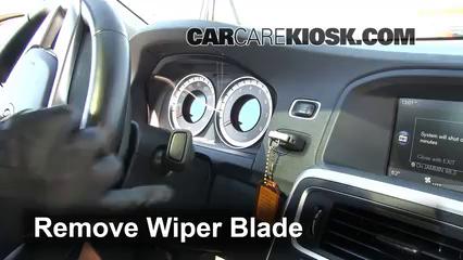 2012 Volvo S60 T5 2.5L 5 Cyl. Turbo Windshield Wiper Blade (Front)