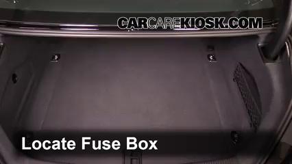 replace a fuse 2012 2017 audi a6 quattro 2013 audi a6 quattro rh carcarekiosk com Audi A6 Fuse Box Trunk Audi A6 Fuse Box Trunk