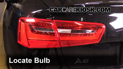 2013 Audi A6 Quattro Premium 3.0L V6 Supercharged Lights