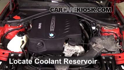 2013 BMW 335i xDrive 3.0L 6 Cyl. Turbo Sedan Coolant (Antifreeze)