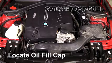 2013 BMW 335i xDrive 3.0L 6 Cyl. Turbo Sedan Oil