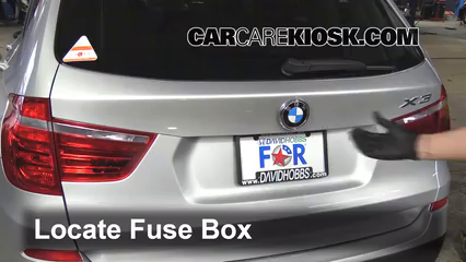 2013 BMW X3 xDrive28i 2.0L 4 Cyl. Turbo%2FFuse Engine Part 1 replace a fuse 2011 2016 bmw x3 2013 bmw x3 xdrive28i 2 0l 4 fuse box on bmw 325i at webbmarketing.co
