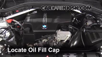 oil \u0026 filter change bmw x3 (2011 2017) 2013 bmw x3 xdrive28i 2 0l Chevy Equinox Engine Diagram 8 remove oil cap