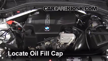 2013 BMW X3 xDrive28i 2.0L 4 Cyl. Turbo Oil