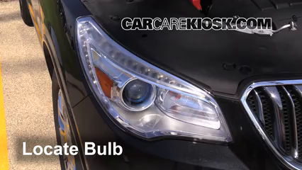 2013 Buick Enclave 3.6L V6 Lights Highbeam (replace bulb)