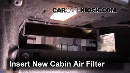 Cabin Filter Replacement: Cadillac ATS 2013-2018 - 2013 ...
