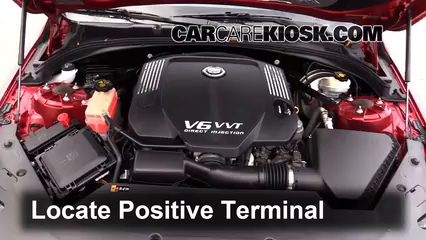 2013 Cadillac ATS Performance 3.6L V6 FlexFuel Battery Jumpstart