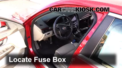 2013 Cadillac ATS Performance 3.6L V6 FlexFuel Fusible (interior) Cambio