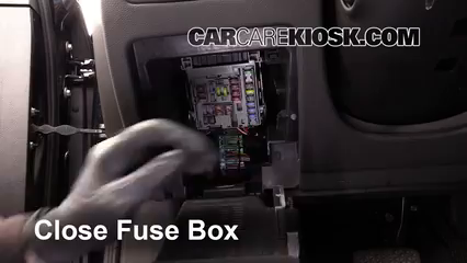 Interior Fuse Box Location: 2013-2019 Cadillac XTS - 2013