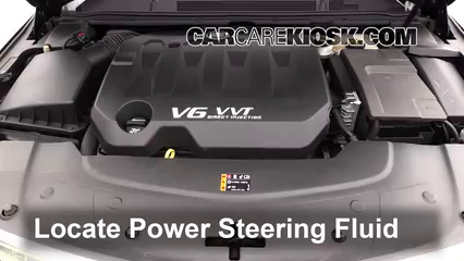 2013 Cadillac XTS 3.6L V6 Power Steering Fluid