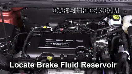 Add Brake Fluid 2011 2016 Chevrolet Cruze 2013 Chevrolet