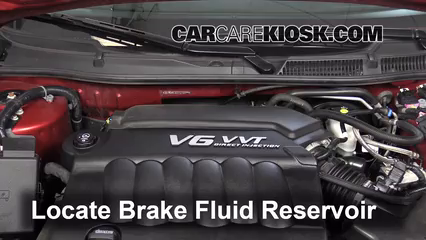 2013 Chevrolet Impala LT 3.6L V6 FlexFuel Brake Fluid