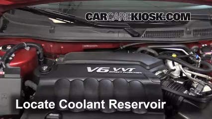 2013 Chevrolet Impala LT 3.6L V6 FlexFuel Coolant (Antifreeze)