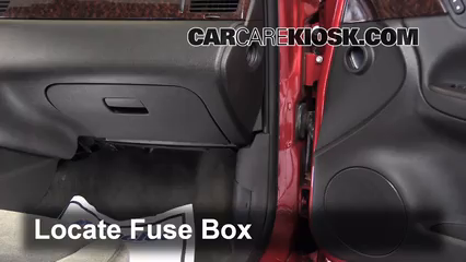 interior fuse box location 2006 2016 chevrolet impala 2013 rh carcarekiosk com 2013 impala fuse box diagram 2012 impala fuse box location