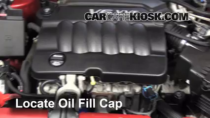 2013 Chevrolet Impala LT 3.6L V6 FlexFuel Oil Add Oil