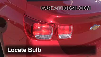 Tail Light Change 2013-2015 Chevrolet Malibu - 2013