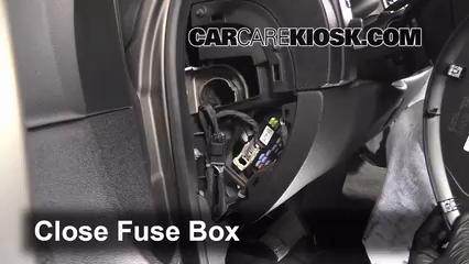 2007-2013 Chevrolet Silverado 1500 Interior Fuse Check - 2013