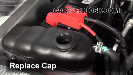 How to Add Coolant: Chevrolet Tahoe (2007-2013) - 2013
