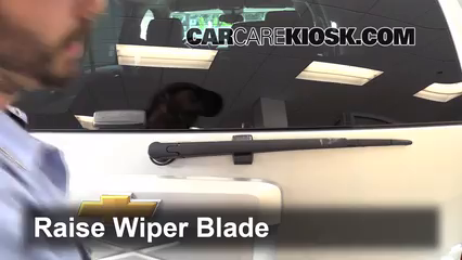 2013 Chevrolet Tahoe LT 5.3L V8 FlexFuel Windshield Wiper Blade (Rear)