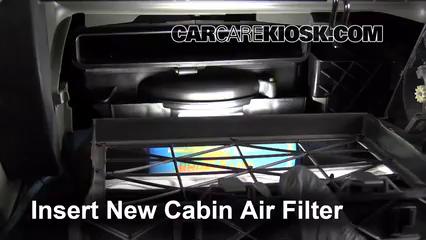 2009-2017 Chevrolet Traverse Cabin Air Filter Check - 2013