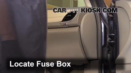 Interior Fuse Box Location: 2009-2017 Chevrolet Traverse - 2013 ...