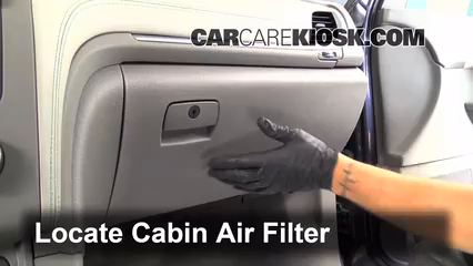 2013 Chevrolet Traverse LS 3.6L V6 Air Filter (Cabin) Replace