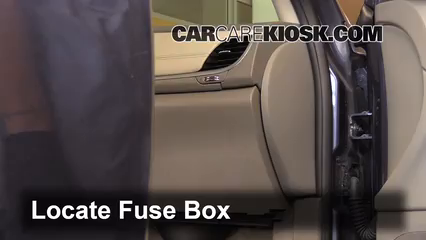 Interior Fuse Box Location 2009 2017 Chevrolet Traverse 2013