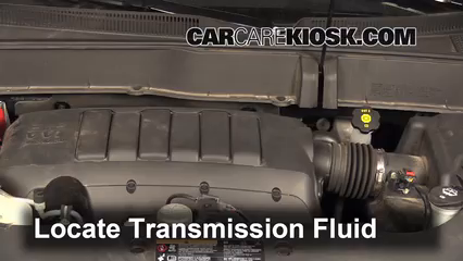 2013 Chevrolet Traverse LS 3.6L V6 Transmission Fluid