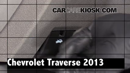 2013 Chevrolet Traverse LS 3.6L V6 Review