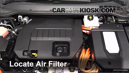 2013 Chevrolet Volt 1.4L 4 Cyl. Air Filter (Engine)