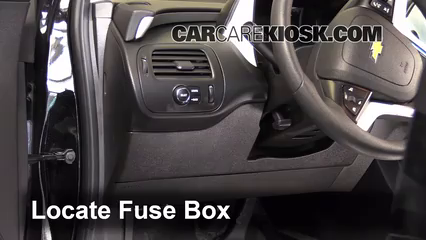 interior fuse box location 2011 2015 chevrolet volt 2013 rh carcarekiosk com