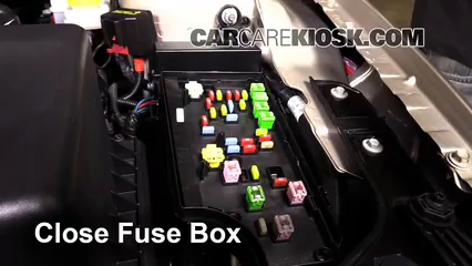 interior fuse box location 2011 2014 chrysler 200 2013 chrysler 2011 Chrysler 200 Throttle Body secure the cover and test component