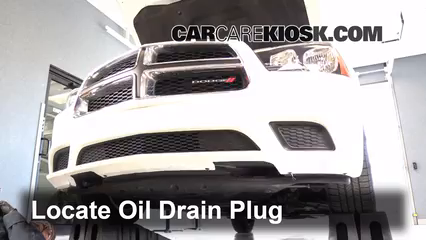 oil & filter change dodge charger (2011-2014)