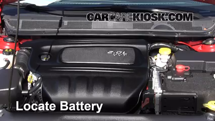 2013 Dodge Dart SXT 2.0L 4 Cyl.%2FBattery Locate Part 1 how to clean battery corrosion 2013 2016 dodge dart 2013 dodge how to clean corrosion from fuse box at crackthecode.co