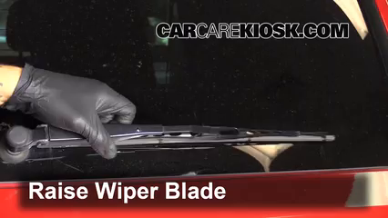 2013 Dodge Grand Caravan SXT 3.6L V6 Windshield Wiper Blade (Rear)