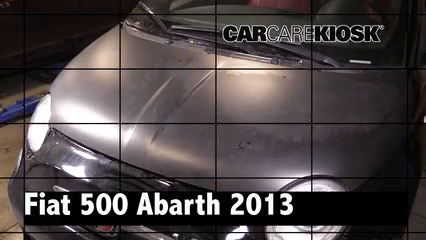 2013 Fiat 500 Abarth 1.4L 4 Cyl. Turbo Review