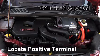 Battery Locate Part on Ford Escape Hybrid Battery