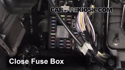 Interior Fuse Box Location: 2008-2014 Ford E-350 Super Duty - 2013