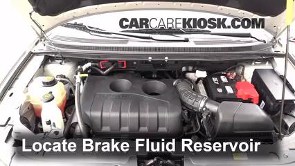 Ford Edge Brake Fluid Level Check